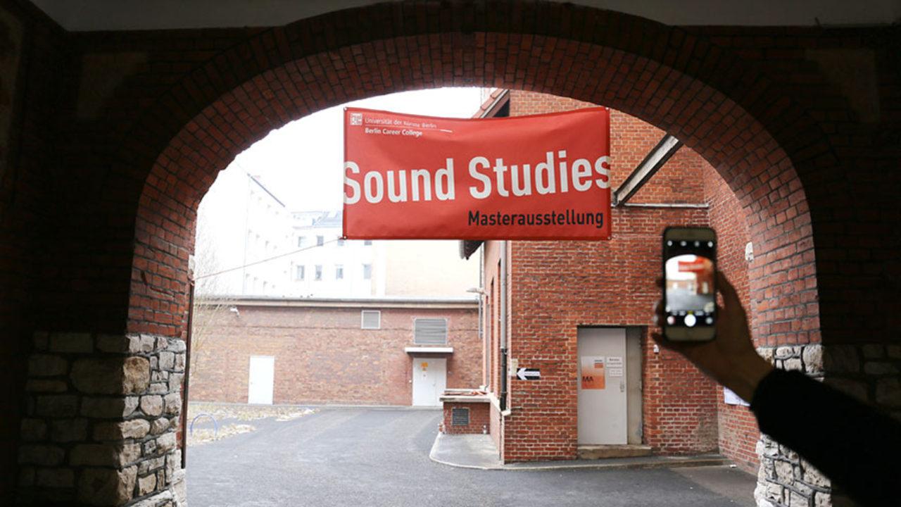 "MASTERCLASS EXHIBITION ""SOUND STUDIES"""