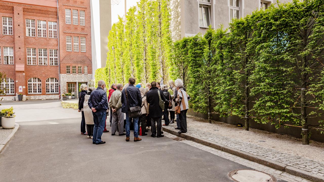 PRESERVATION ASSOCIATION VISITS BRICKS BERLIN SCHÖNEBERG