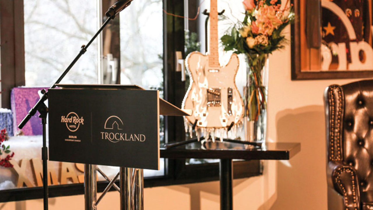 TROCKLAND PARTNERS WITH HARD ROCK HOTELS