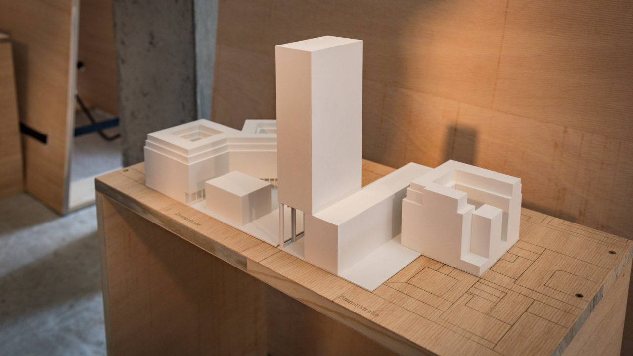 SEVEN DESIGNS FOR THE FUTURE OF THE CHECKPOINT CHARLIE